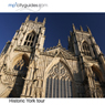 York: mp3cityguides Walking Tour (Unabridged), by Simon Harry Brooke